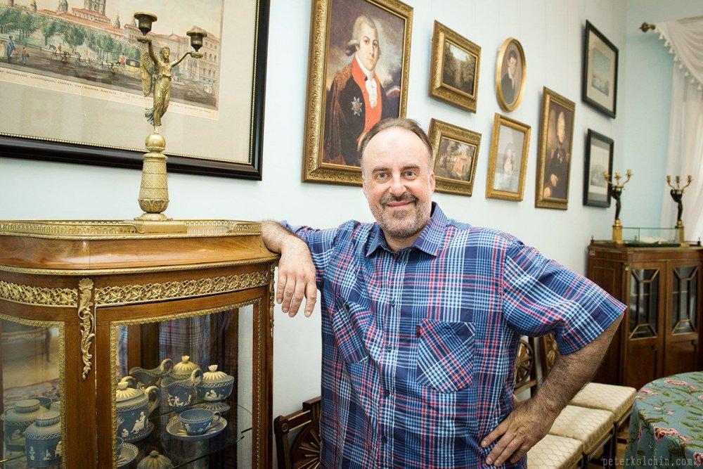 Старший научный сотрудник Музея Боратынского, поэт и писатель Алексей Гомазков. Фото: boratynskiy.tatmuseum.ru