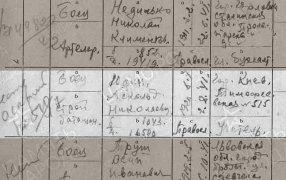 Юдин Аскольд (Анатолий) Николаевич (08.07.1920 - 16.01.1942), рядовой. / Центральный архив МО РФ