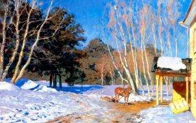 Исаак Левитан «Март». 1895. ГТГ / Wikimedia