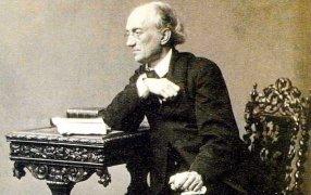 Поэт и тайный советник Ф.И. Тютчев, фото С. Левицкого, 1865 г.  / ТАСС