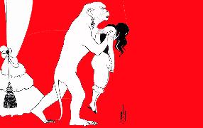 20 апреля 1841 года был опубликован первый в истории мировой литературы детективный рассказ американского писателя Эдгара По/ Иллюстрация к рассказу Обри Бердслея (1895)