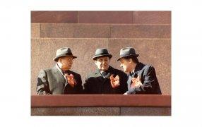 М.С. Горбачев, А.А.Громыко и Н.И.Рыжков. Красная площадь.1988 / gorby.ru