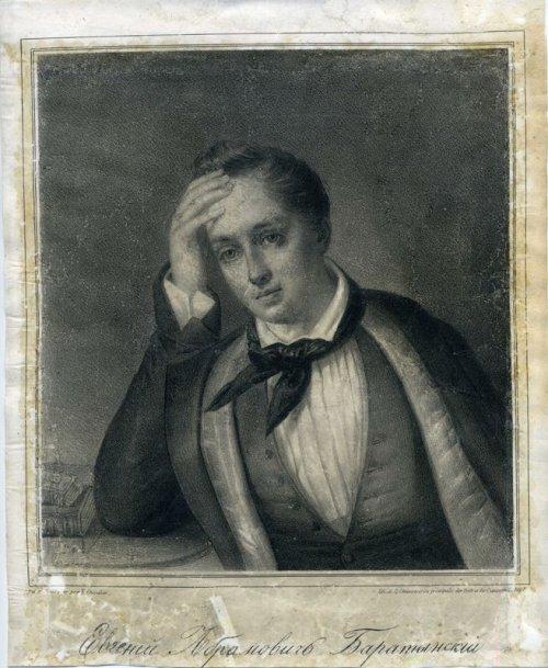 Шевалье Франсуа Фредерик. Портрет Е.А. Боратынского. 1852 г.
