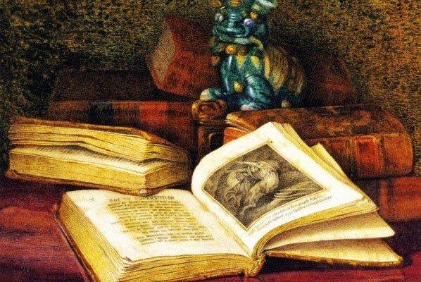 Клод Раге Херст. Книга Сэмюэла Роджерса «Ода суеверию», конец XIX века / Montclair Art Museum
