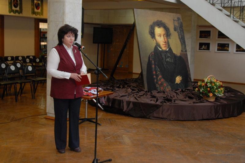 Пушкина читают в Пятигорске