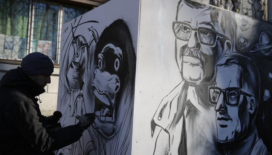 граффити стругацкие