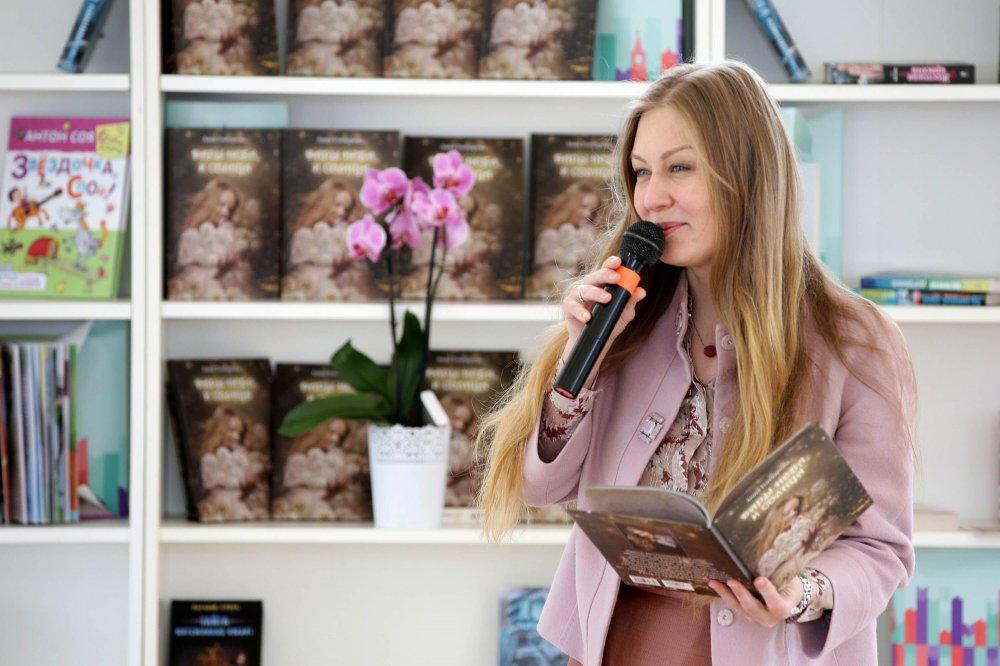 Анна Гончарова на красной площади. 1