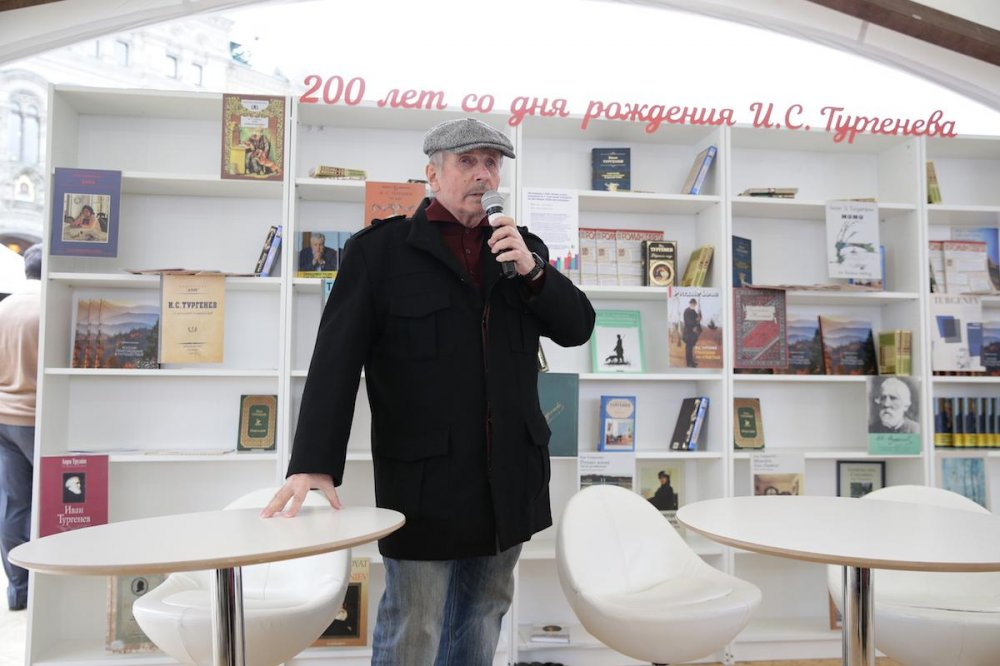Веллер на Красной площади