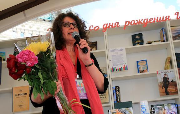 Александра Маринина на фестивале Красная площадь