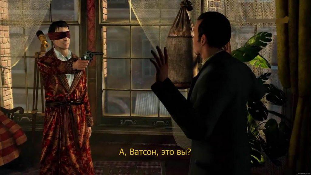 игра Шерлок Холмс компьютерные игры по книгам