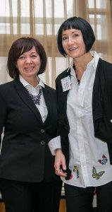 Светлана Тарасова (слева) и Марина Йоргенсон
