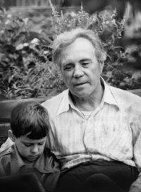 Астафьев с внуком
