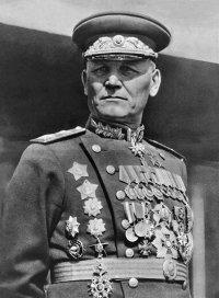 Маршал Советского Союза дважды Герой Советского Союза Иван Степанович Конев.