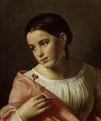 О. А. Кипренский, «Бедная Лиза», 1827