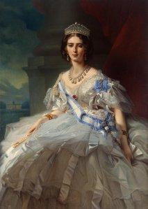 Ф.К. Винтерхальтер. Портрет княгини Т.А. Юсуповой, 1858 г