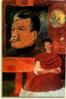 """Фрида и Сталин"". 1954. www.flickr.com"
