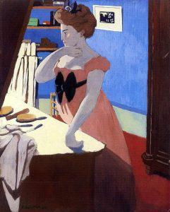 Феликс Валлоттон - Мизия за туалетным столиком - 1898