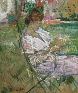 Анри де Тулуз-Лотрек - Портрет Мизии Натансон - 1897