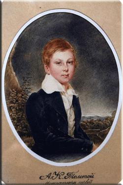 Детский портрет А.К. Толстого