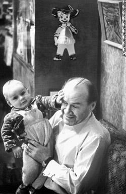 Носов с внуком