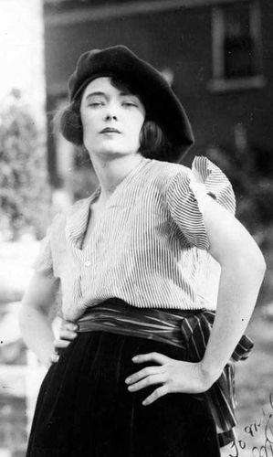 Маргарет Митчелл в возрасте 21 года. Федор Косичкин