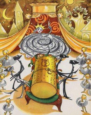 «Городок в табакерке» Иллюстрации Н.Гольц