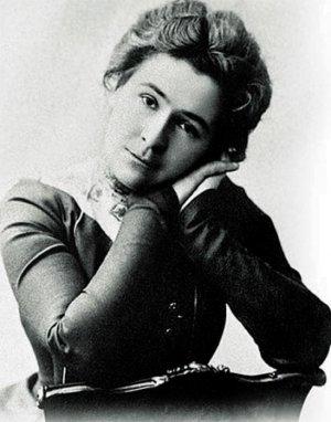 Ольга Книппер - жена Антона П. Чехова