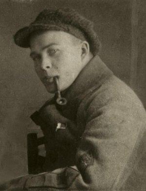 Молодой Аркадий Гайдар