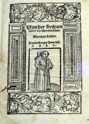 О свободе христианина мартин лютер