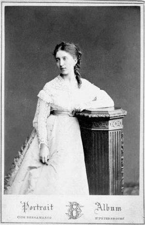 Ольга Григорьевна Аксакова. Фото из собрания музея -заповедника Абрамцево