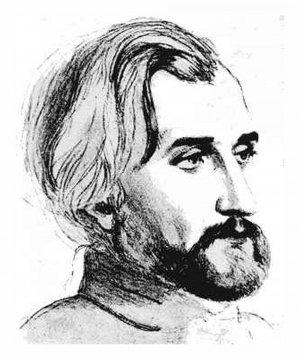 П. Виардо. Портрет Тургенева.