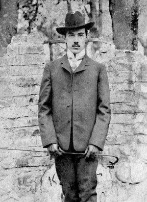 Александр Беляев в Смоленске. 1905 год