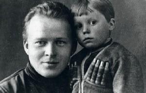 гайдар с сыном володей