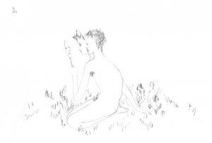 Иллюстрация Кати Хасиной к стихам Алисы Ройдман