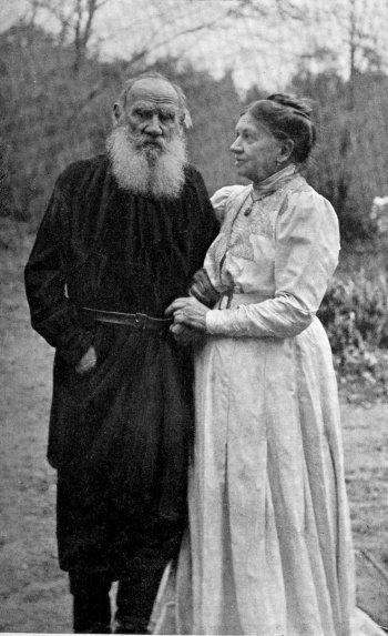 Софья и Лев Толстой