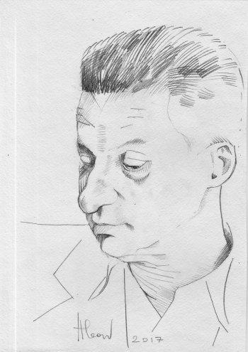 Портрет работы Анны Леон
