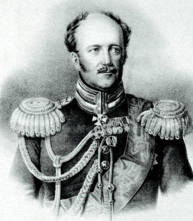 А.Х. Бенкендорф. Гравюра Т.Райта с оригинала Дж.Доу. 1820-е