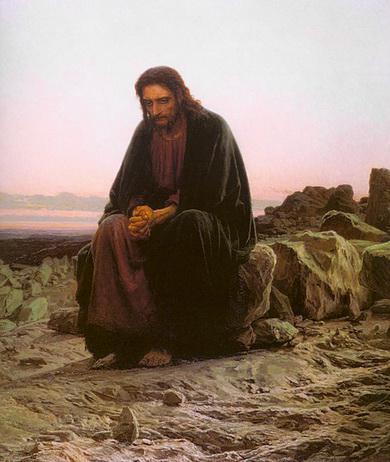 крамской христос в пустыне