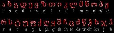 Georgian-font