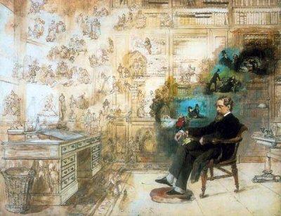 О-музее-Диккенса-Анна-Матвеева Dickens's Dream, by Robert William Buss