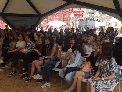 дискуссия о феминизме на Красной площади