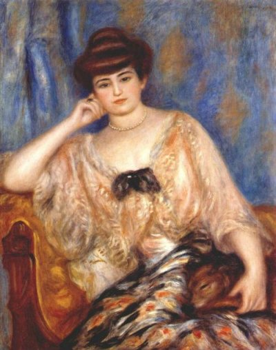 Пьер Огюст Ренуар - Портрет Мизии Серт - 1904