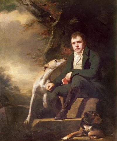Генри Реберн. Портрет сэра Вальтера Скотта (1808)
