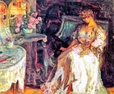 Пьер-Боннар---Мизиа-с-розами---1908