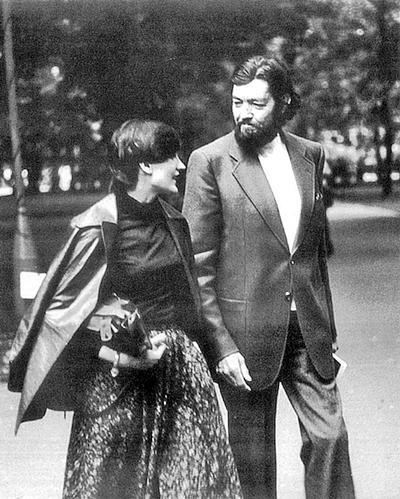 Марта и Хулио Кортасар в Варшаве, 1978 г.
