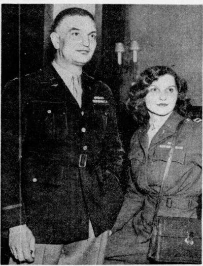 Хантингтон и Алиса Шелдон, 1946