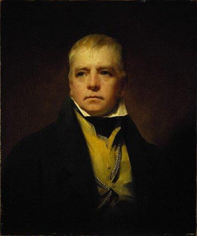 Henry Raeburn (1756–1823). Сэр Вальтер Скотт (1822, National Galleries of Scotland)