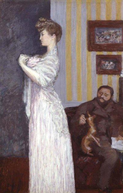 Пьер Боннар - Мизиа и Таде Натансон - 1906