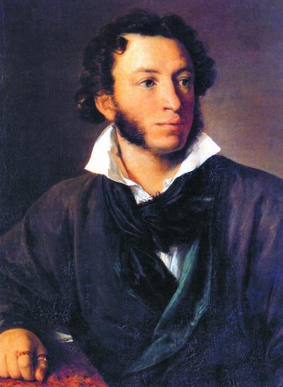 А.С. Пушкин. Художник В.А. Тропинин. 1827
