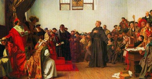 Лютер в Вормсе «На сём я стою…».
